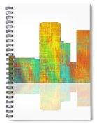 Tulsa Oklahoma Skyline-1 Spiral Notebook
