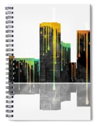 Tulsa Oklahoma Skyline Spiral Notebook