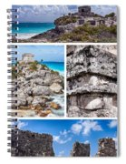 Tulum, Mexico Collage Spiral Notebook