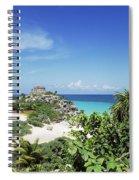 Tulum Ruins Spiral Notebook