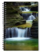 Tumblin Down Square Spiral Notebook
