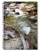 Tumbling Stream  Spiral Notebook