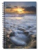 Tumbling Surf Spiral Notebook