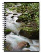 Tumbling Water Spiral Notebook