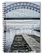 Tyne Bridge, Newcastle Spiral Notebook