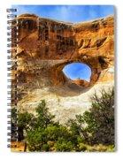 Tunnel Arch Spiral Notebook