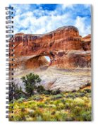 Tunnel Arch Trail View Spiral Notebook