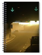 Tunnel Exit Spiral Notebook