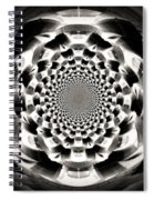 Tunnel Illusion Spiral Notebook