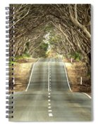 Tunnel Of Trees Spiral Notebook