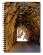Tunnel Route 4nm Spiral Notebook