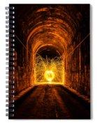 Tunnel Sparks Spiral Notebook