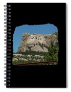 Tunnel View Mt Rushmore 2 A Spiral Notebook