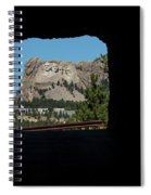 Tunnel View Mt Rushmore 2 B Spiral Notebook
