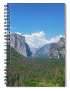 Tunnel View Panorama  Spiral Notebook