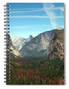 Tunnel View Yosemite Spiral Notebook