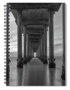 Tunnel Vision Bw  Spiral Notebook