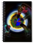 Tunnel Vision Up The Drain Spiral Notebook