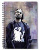 Tupac Shakur Spiral Notebook