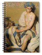 Turbaned Oriental  Spiral Notebook