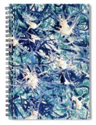 Turbo Turquoise  Spiral Notebook