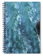 Turbulence Spiral Notebook