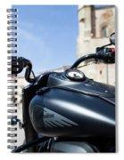 Turgalium Motorcycle Club 01 Spiral Notebook