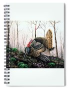 In Strut - Turkey Spiral Notebook