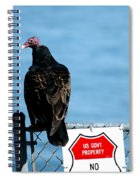 Turkey Buzzard Spiral Notebook