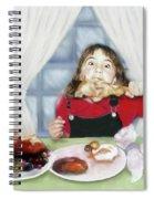 Turkey Girl Spiral Notebook