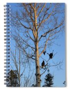 Turkey Vulture Tree Spiral Notebook