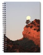 Turk's Moon Spiral Notebook