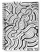 Turmoil Spiral Notebook