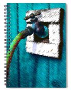 Turn Me On Spiral Notebook