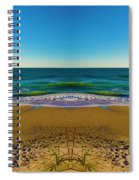 Turn The Page Spiral Notebook
