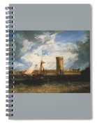 Turner Joseph Mallord William Tabley The Seat Of Sir Jf Leicester Joseph Mallord William Turner Spiral Notebook