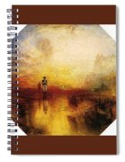 Turner Joseph Mallord William The Exile And The Snail Joseph Mallord William Turner Spiral Notebook