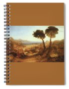 Turner Joseph The Bay Of Baiae With Apollo And The Sibyl Joseph Mallord William Turner Spiral Notebook