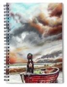 Turner's Dog Spiral Notebook
