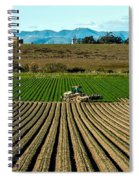 Turning The Soil Spiral Notebook