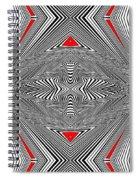 Turning The Turmoil Spiral Notebook