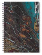 Turq's And Carnelian Spiral Notebook