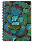 Turquoise Agave Spiral Notebook