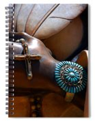 Turquoise Bracelet  Spiral Notebook