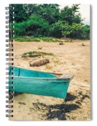 Turquoise Canoe Negril Spiral Notebook