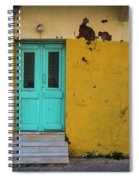Turquoise Entry Spiral Notebook