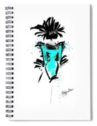 Turquoise In The City Spiral Notebook