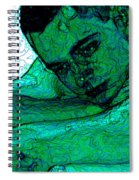 Turquoise Man Spiral Notebook