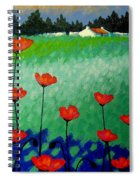 Turquoise Meadow Spiral Notebook
