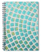 turquoise meets green P2 Spiral Notebook